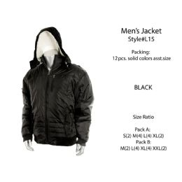 12 Bulk Mens Fashion Winter Jacket