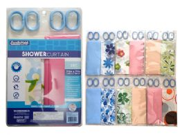 72 Bulk 2 Piece Shower Curtain