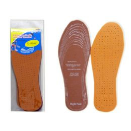 288 Bulk 2 Pairs Leather Insoles