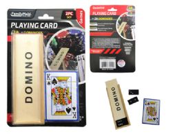 48 Bulk Playing Card 2 Pieces And Dominoes