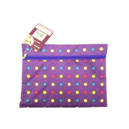72 Bulk Cosmetic Bag Polka Dot