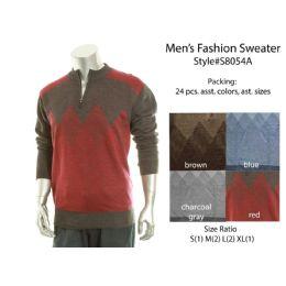 24 Bulk Mens Fashion Sweater