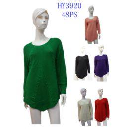 24 Bulk Ladies Sweater For Winter