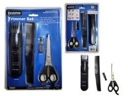 72 Bulk 4 Piece Hair Trimmer Set