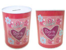 48 Bulk Princess Tin Saving Bank