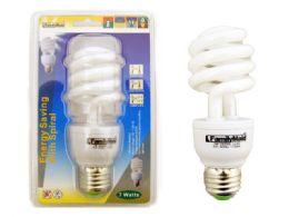 72 Bulk 7 Watt Energy Saving Spiral Lightbulb
