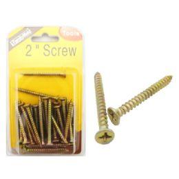 96 Bulk 2 Inch Hardware Screw