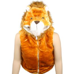 12 Bulk Kids Cute Lion Jacket With Hat