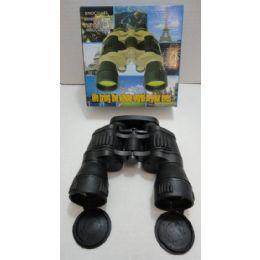 24 Bulk Black Binoculars With Cloth Case