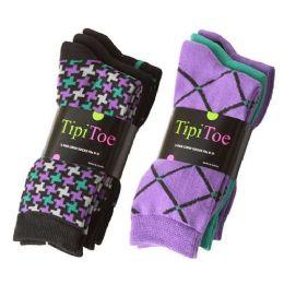 180 Bulk Tipi Toe Women's Crew Socks