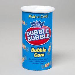 96 Bulk Candy Bubble Gum Orig In Twist Bank