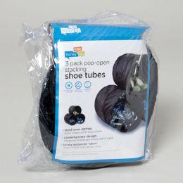 40 Bulk Black Shoe Tubes