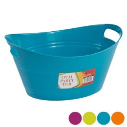 Wholesale Basket Oval Tub Wdouble Handles 525x125 4 Colors In Pdq