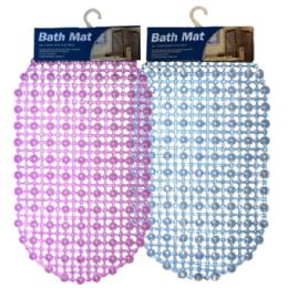 36 Bulk Bath Mat Dots Solid