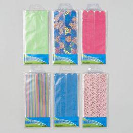 72 Bulk Emery Boards Jumbo Size 4pk 6asst Solid Colors & Prints Gov Hba Pvc W/insert