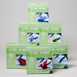 36 Bulk Outdoor Mobile 6ast Flying Birds/bugs Color Boxed Peggable Gov Logo