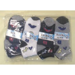 360 Bulk Children's Ankle Socks Size:4-6