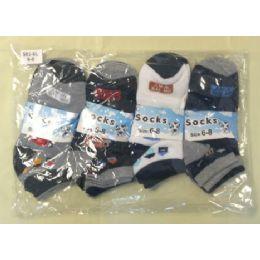 360 Bulk Children's Ankle Socks Size:6-8