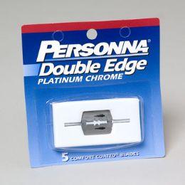 144 Bulk Razor Double Edge 5ct Personna Ref# 12-1203 Case Dimensions Are 9.82 X 9.2 X 9.45