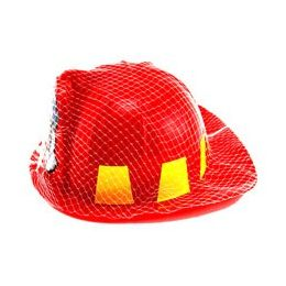 36 Bulk Youth Size Fireman's Helmet, Packaged In NeT-Bag With Hang Tag.