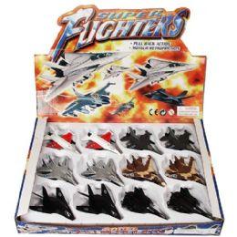 24 Bulk DiE-Cast Super Fighters