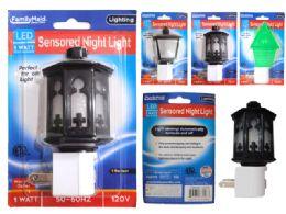 96 Bulk Led Night Light 2asst Design Blist