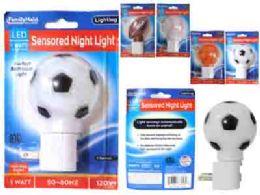 96 Bulk Led Night Light 4asst Design Blist