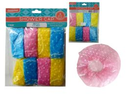 144 Bulk 8 Piece Shower Caps