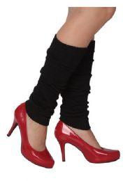 36 Bulk Women's Solid Legwarmers