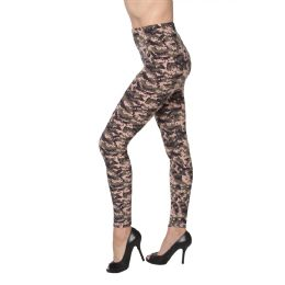 36 Bulk Women's Fashion Leggings Assorted Sizes L.xl