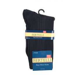 144 Bulk Bertelli Dress Socks