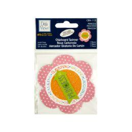 108 Bulk Princess Chipboard Spinner Sticker