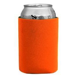 144 Bulk Insulated Can Or Beverage Holder Orange