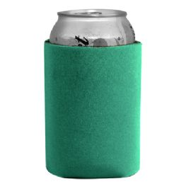 144 Bulk Insulated Can Or Beverage Holder Teal