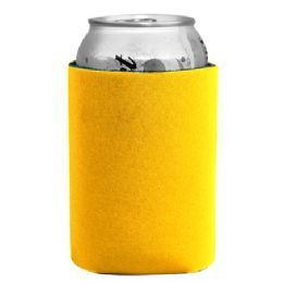 144 Bulk Insulated Can Or Beverage Holder Yellow