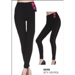 36 Bulk Womens Fashion Pants Black