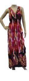 48 Bulk Ladies Long Summer Sun Dress Assorted Styles