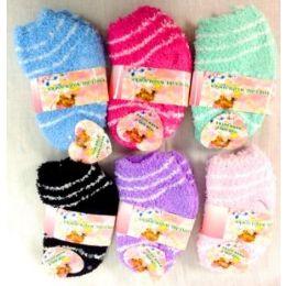 96 Bulk Girl Fuzzy Socks