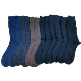 240 Bulk Mens Solid Colors Cotton Dress Socs