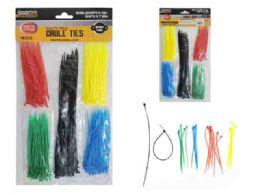 144 Bulk 250pc Asst Color Cable Ties