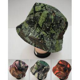 24 Bulk Bucket Hat [assorted Camo]