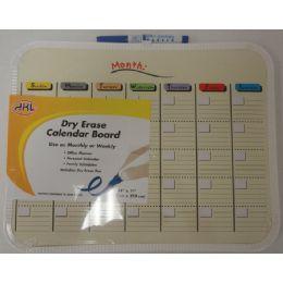 24 Bulk Dry Erase Calendar Board