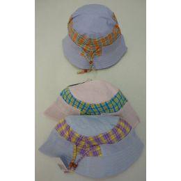 72 Bulk Girls Bucket Hat [plaid]
