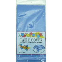 96 Bulk 54*108 Table Cover - Navy Blue