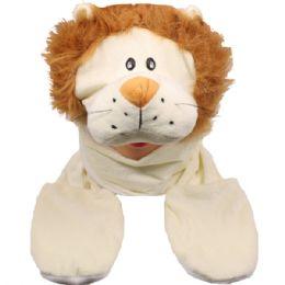 24 Bulk Animal Hat Lion