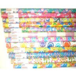 96 Bulk 30sq Ft Birthday Paper Gift Wrap