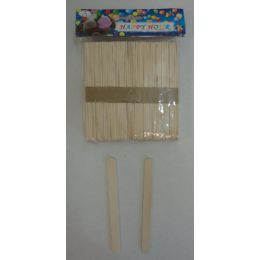 48 Bulk 100pc Wooden Craft Sticks