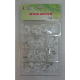 36 Bulk Hardware Assortment [cable Clips]
