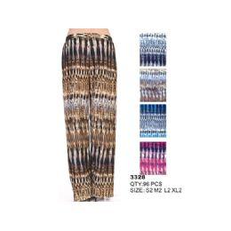 96 Bulk Woman's Palazzo Fashion Pants