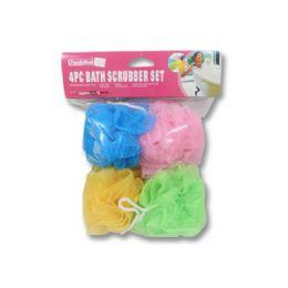 120 Bulk 4 Piece Bath Sponge